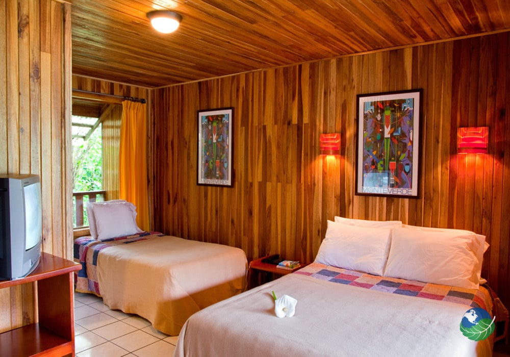 Monteverde Country Lodge Two Bed Bedroom