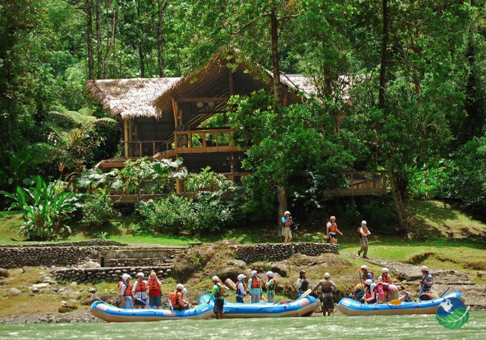 Pacuare Lodge River Entrance
