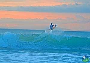 Pavones Costa Rica sunset
