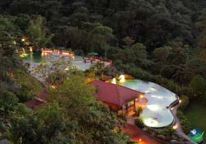 Peace Lodge Aerial View