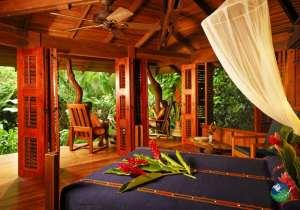 Playa Nicuesa Lodge Bedroom