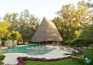 Canyon De La Vieja Lodge Pool Area