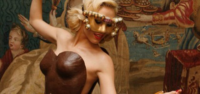 chocolate dress headline