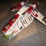 Star Wars LEGO Republic Attack Gunship 7676