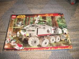 LEGO Clone Turbo Tank 7261