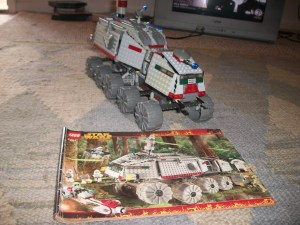 Completed LEGO 7162