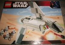 Star Wars LEGO real time build set 7659