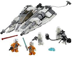 Star Wars LEGO Snowspeeder 75049 real time build