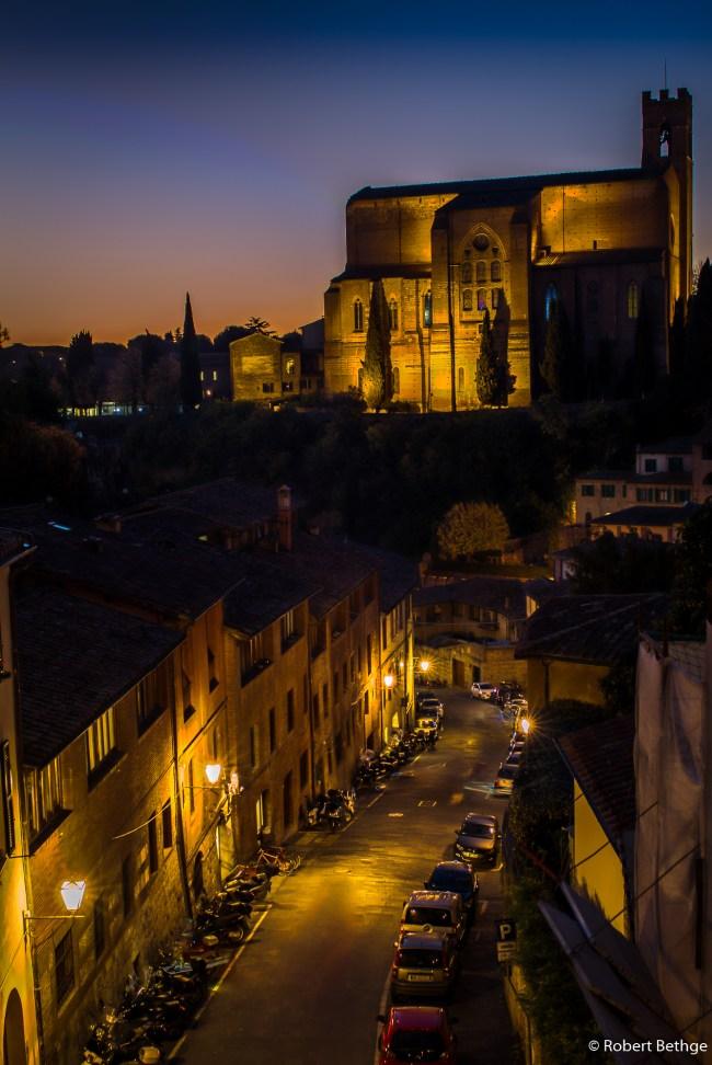 Evening in Siena