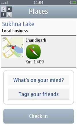 Borg Facebook Client Symbian