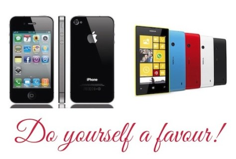 Stop Buying The iPhone 4. Save Yourself Money & Get A Lumia 520 Instead
