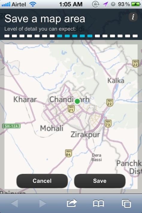 Nokia Maps iOS 6