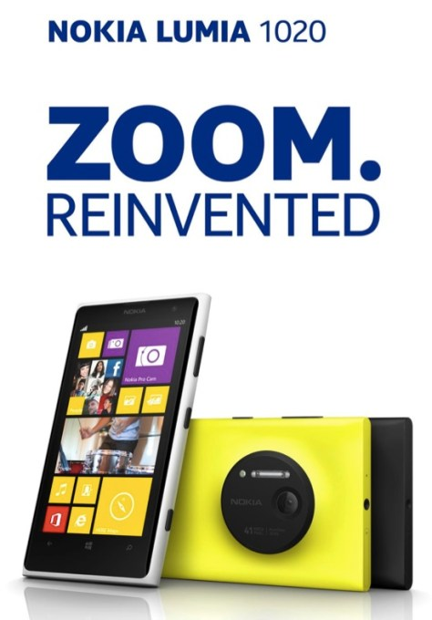 Nokia's 41 Megapixel Windows Phone Is Official: The Lumia 1020 Pureview