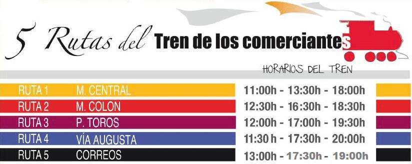 Horarios Tren de Nadal 2016 Valencia