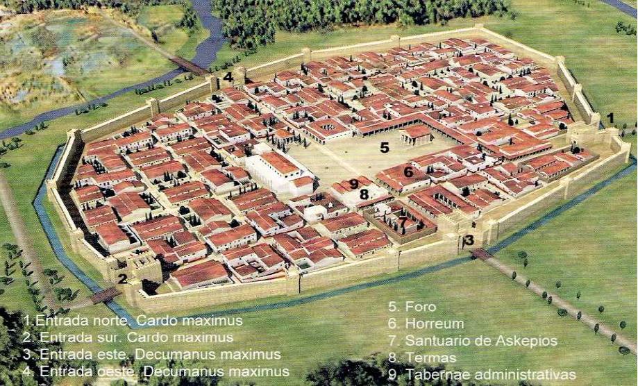 Valentia Edetanorum, la primera fundación. Fuente: www.elmonroma.com
