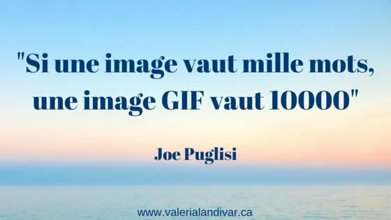 Si une image vaut mille mots, une image GIF vaut 10000