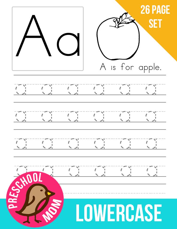 Preschool Letters Printable Worksheets