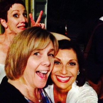Karen Rymar-photo bomber Lisa Vroman