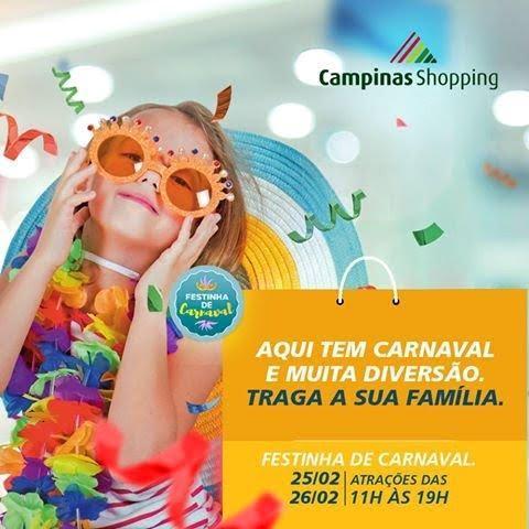 campinas shopping carnaval