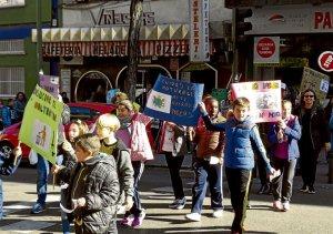 La marcha tuvo lugar los días 16 y 17 de marzo, participando 225 alumnos cada día.