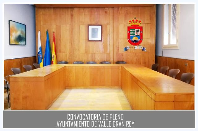 (28/09/17) Convocatoria de Pleno Ordinario