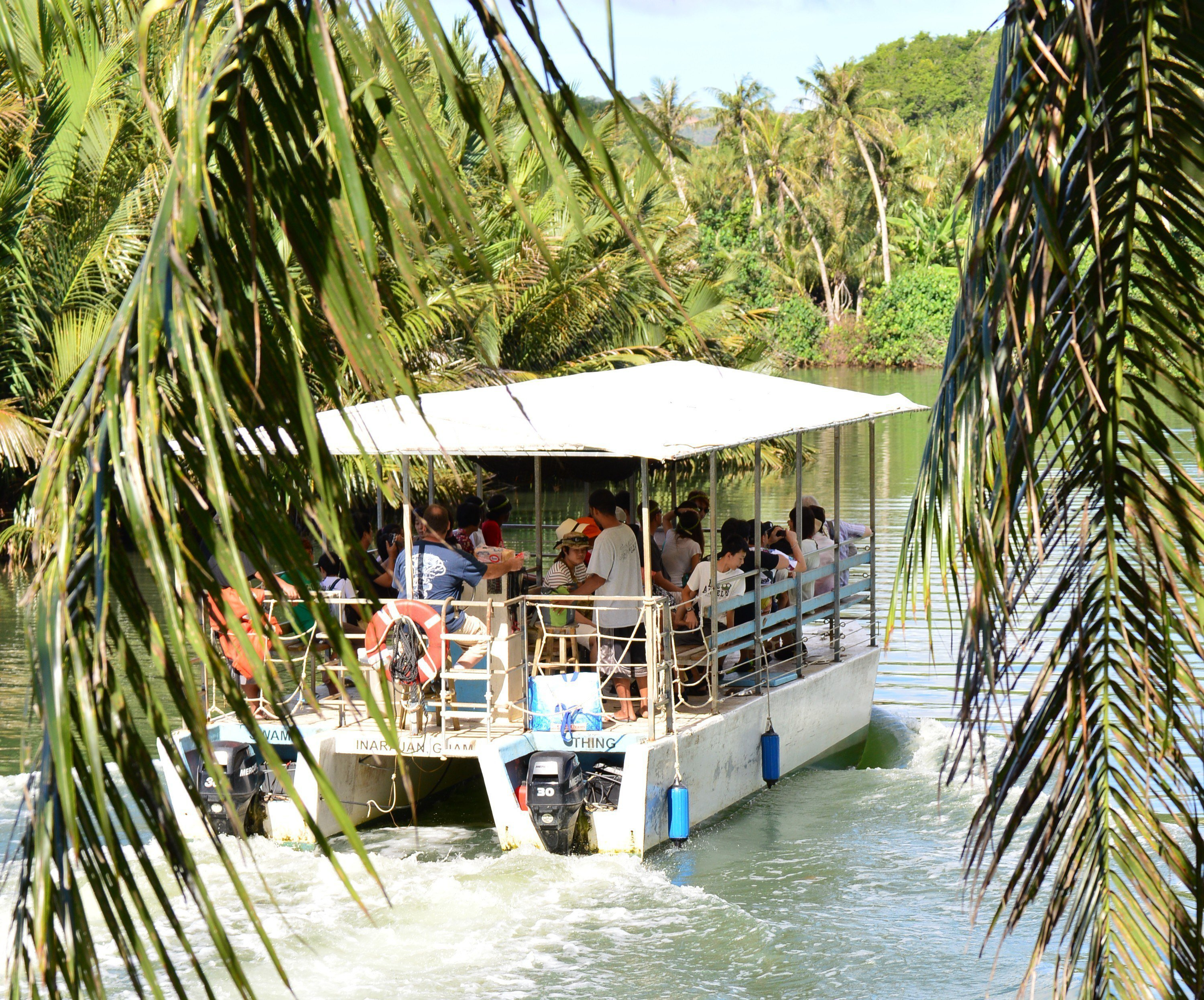 Adventure River Boat Cruise Valley of the Latte Adventure Tour Guam