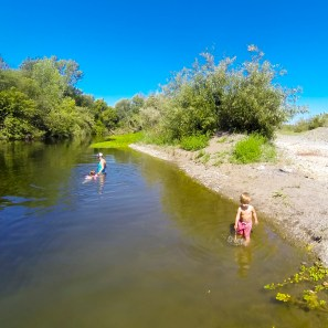 Another hot one today so we're off to the river!