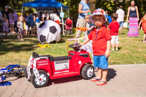 Independence Day parade in Healdsburg