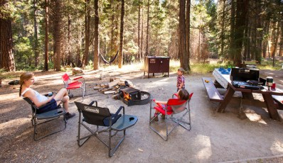 Day One: Camped at the Dimond O camground in the Stanislaus National Foest just outside of Yosemite National Park