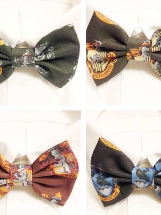 Vamers Store - Harry Potter Inspired Hogwarts House Bowtie - Product Image