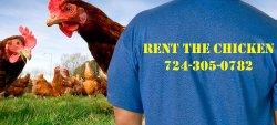 Rent the Chicken Banner