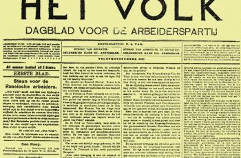 het-volk-krant-arbeiderspartij-krant