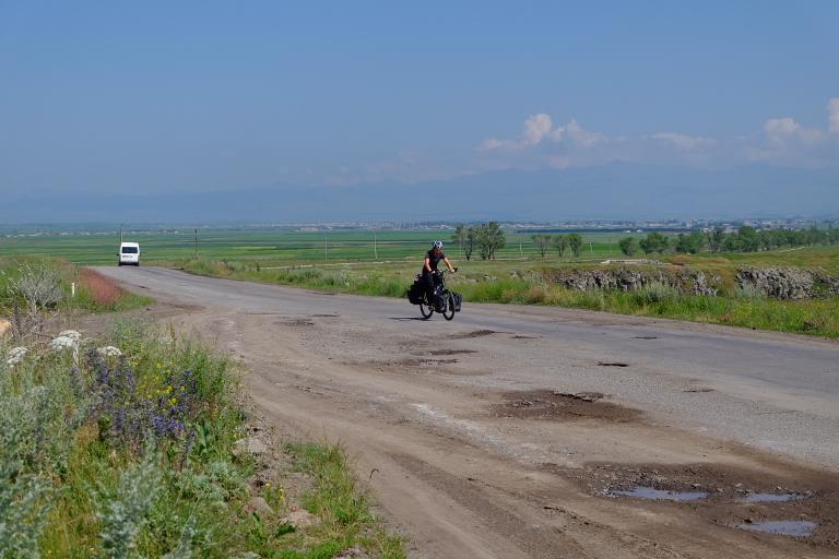 Hoogvlakte richting Armenië