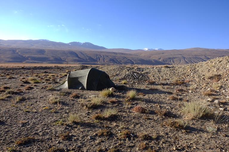 Een paar kampeerplekjes
