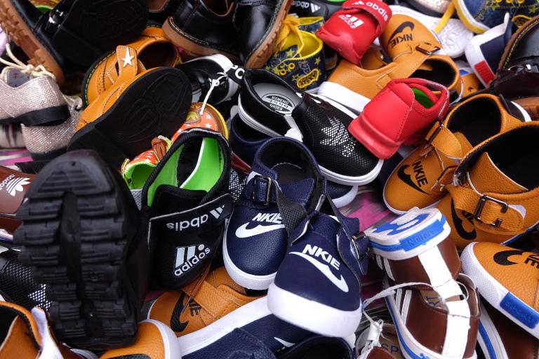 Echte Nkie's en Adidos