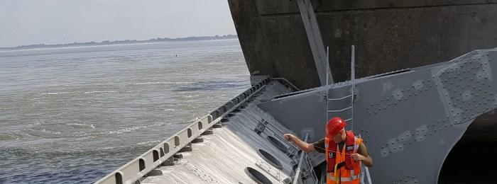Halfjaarlijkse inspectie Haringvlietdam afgerond