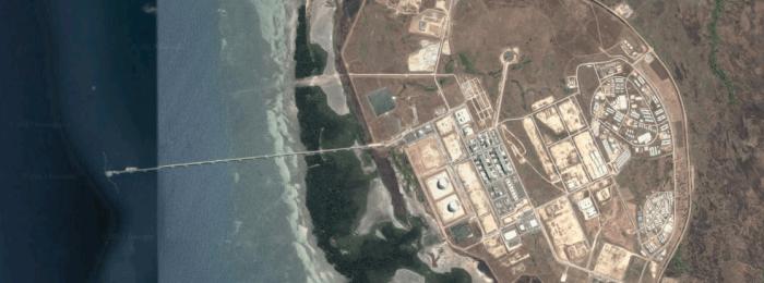 Projectpagina LNG steiger Papoea Nieuw-Guinea