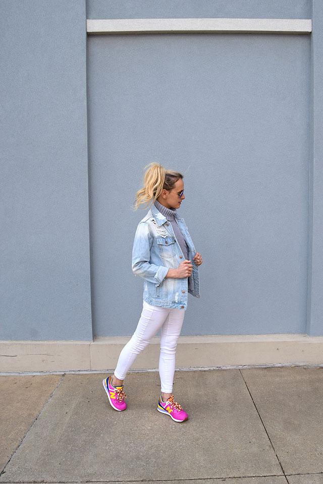 Pink New Balance Sneakers Vandi Fair