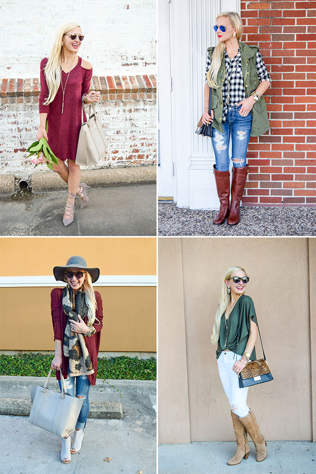 FOUR FALL NORDSTROM SALE OUTFITS