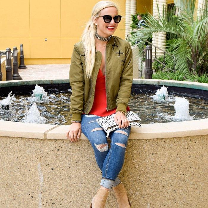 vandi-fair-blog-lauren-vandiver-dallas-texas-southern-fashion-blogger-nordstrom-fall-denim-topshop-jamie-ripped-high-rise-skinny-jeans-kendall-kylie-red-peplum-top-elodie-bomber-jacket-4