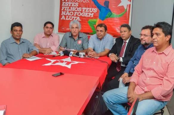 Deputado Zé Inácio e demais companheiros de partido oficializam apoio ao governo Flávio Dino