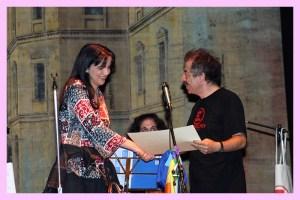 """Premiazione """"CaraPaceTiScrivo"""" (stesso teatro dove fa le prove anche Roberto Benigni)"""