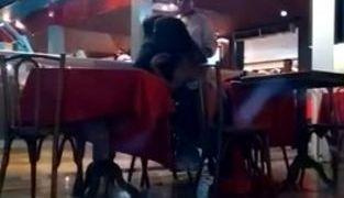 Casal saidinho faz sexo em bar na frente de clientes e funcionários