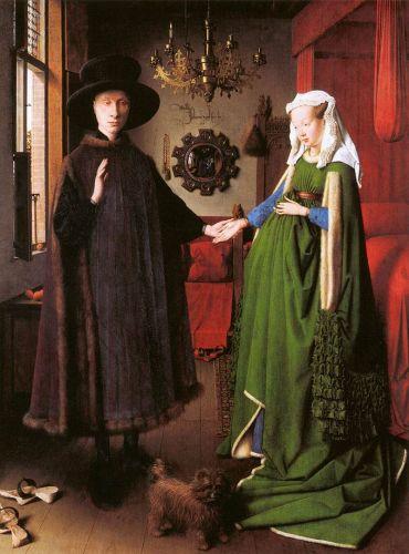 Museum aan het Vrijthof LICHT | Jan van Eyck, (circa 1390–1441) Portret van Giovanni Arnolfini en zijn vrouw | http://bit.ly/Eyck-Arnolfini