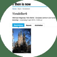 if then is now | De kerk in het midden | verhalen en context