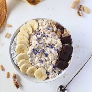 Vegan gluten-free, Protein packed Vanilla Oatmeal