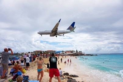 The Famous St. Martin Airplane Landing (VIDEO)