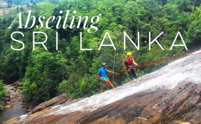 Abseiling Down A Waterfall With Borderlands Adventure In Sri Lanka