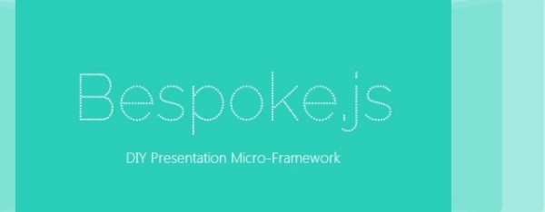 Bespoke.Js – A New Approach To Slides And Presentations