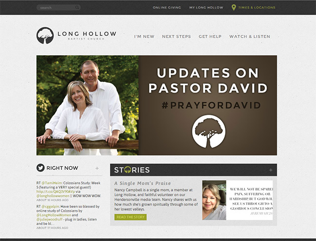 Church Website Design 55+ Beautiful C...